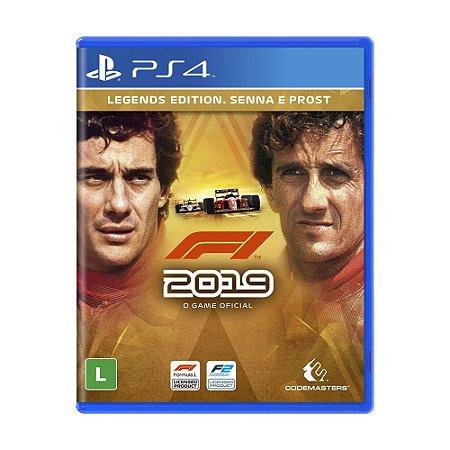 Jogo F1 2019 (Legends Edition) - PS4
