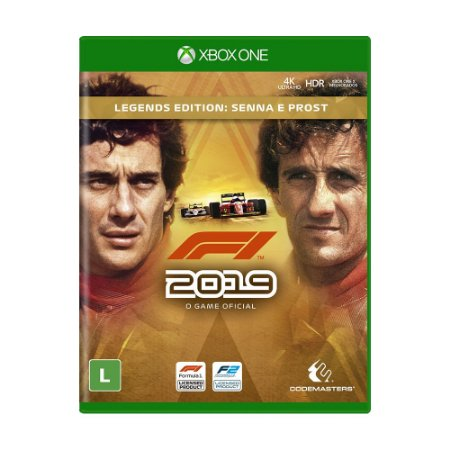 Jogo F1 2019 (Legends Edition) - Xbox One