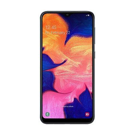 "Smartphone Samsung Galaxy A10 32GB 13MP Tela 6,2"" Preto"