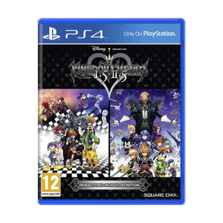 Jogo Kingdom Hearts HD 1.5 + 2.5 Remix - PS4