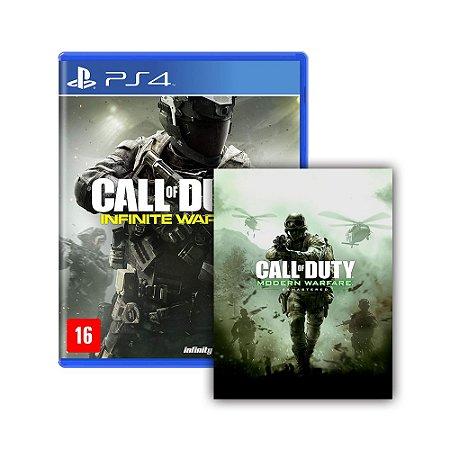 Jogo Call of Duty: Infinite Warfare + Call of Duty: Modern Warfare Remastered - PS4