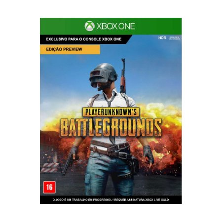 Jogo Playerunknown's Battlegrounds (Edição Preview) (Mídia Digital)  - Xbox One