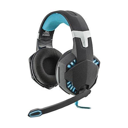 Headset Gamer Trust Hawk 7.1 GXT-363 Vibration com fio - PC