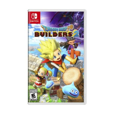 Jogo Dragon Quest Builders 2 - Switch