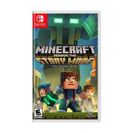 Jogo Minecraft: Story Mode - Season Two - Switch