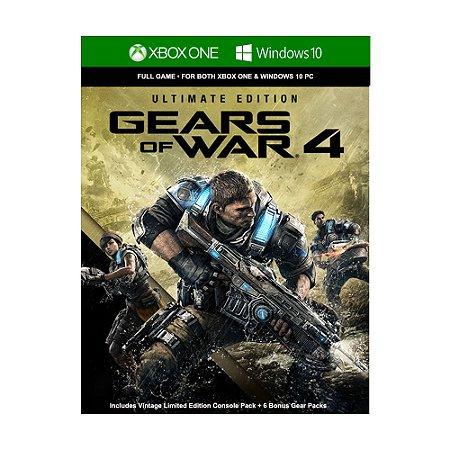 Jogo Gears of War 4 (Ultimate Edition) (Mídia Digital)  - Xbox One