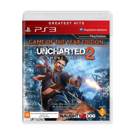 Jogo Uncharted 2: Among Thieves (Game of the Year) - PS3