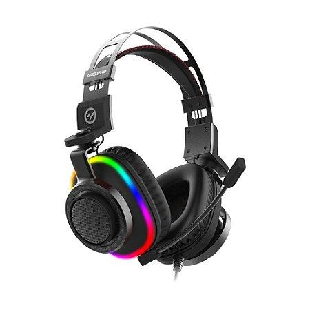 Headset Gamer Element G G550 7.1 RGB com fio - PC