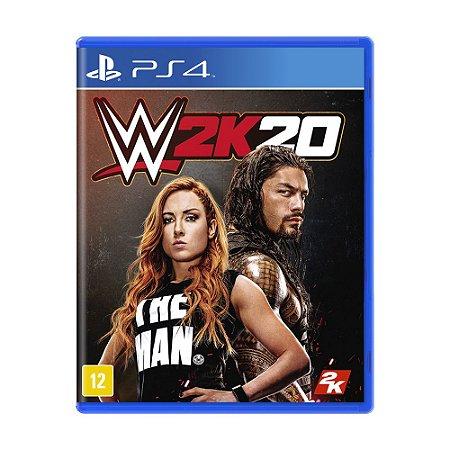 Jogo WWE 2K20 - PS4