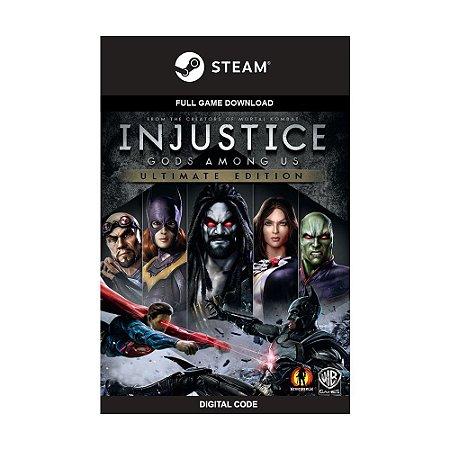 Jogo Injustice: Gods Among Us (Ultimate Edition) (Mídia Digital) - PC