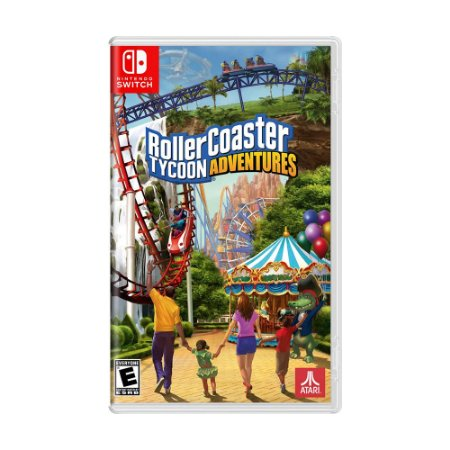 Jogo RollerCoaster Tycoon Adventures - Switch