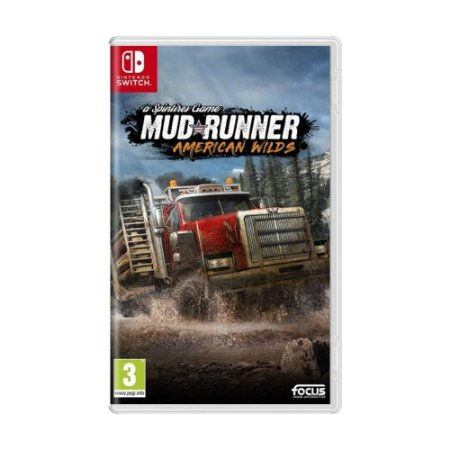 Jogo Spintires: MudRunner - American Wilds - Switch