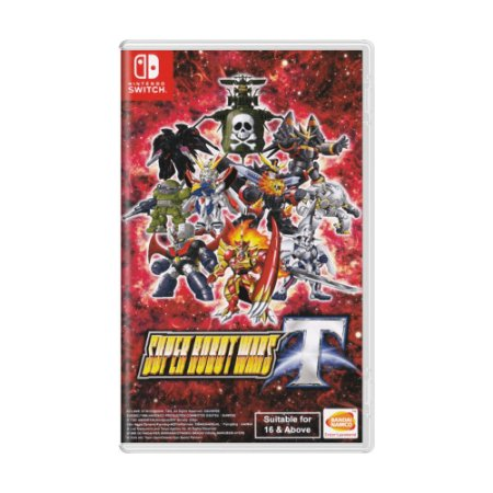 Jogo Super Robot Wars T - Switch