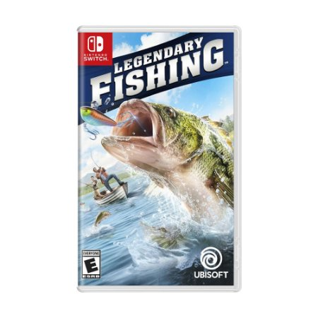 Jogo Legendary Fishing - Switch