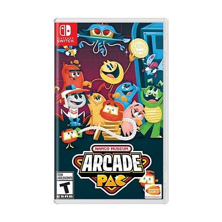Jogo Namco Museum Arcade Pac - Switch