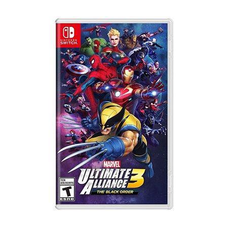 Jogo Marvel Ultimate Alliance 3: The Black Order - Switch