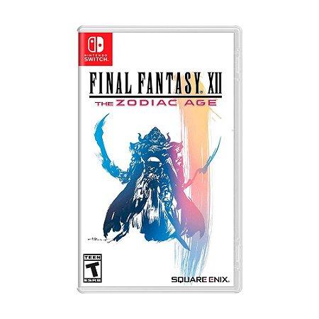 Jogo Final Fantasy XII: The Zodiac Age - Switch