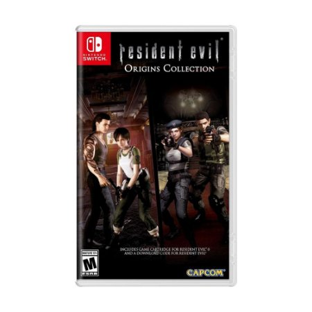 Jogo Resident Evil Origins Collection - Switch