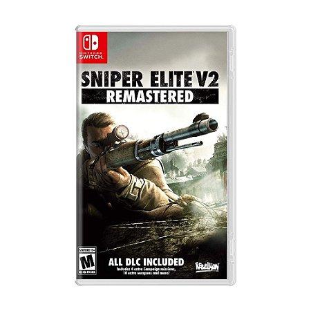Jogo Sniper Elite V2 Remastered - Switch