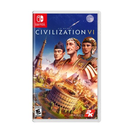Jogo Sid Meier's Civilization VI - Switch
