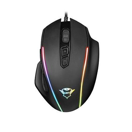 Mouse Gamer Trust GXT Celox RGB 10000dpi com fio