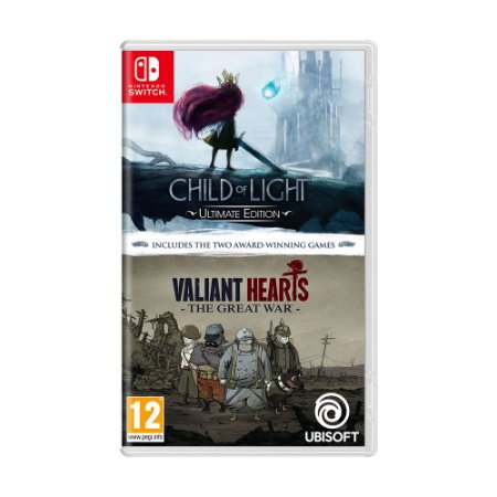 Jogo Child of Light Ultimate Edition + Valiant Hearts: The Great War - Switch