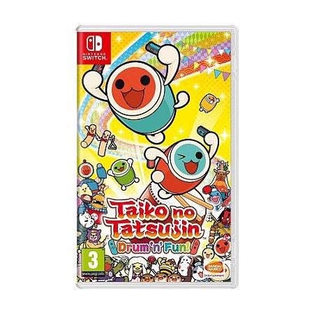 Jogo Taiko no Tatsujin: Drum 'n' Fun! - Switch