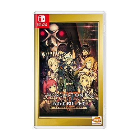 Jogo Sword Art Online: Fatal Bullet (Complete Edition) - Switch