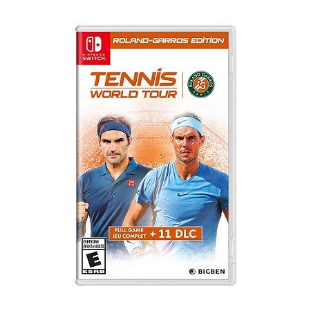 Jogo Tennis World Tour (Roland-Garros Edition) - Switch