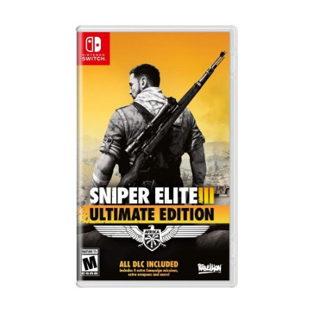 Jogo Sniper Elite III (Ultimate Edition) - Switch