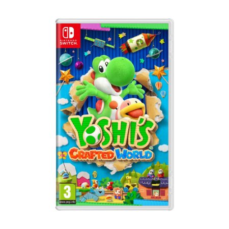 Jogo Yoshi's Crafted World - Switch