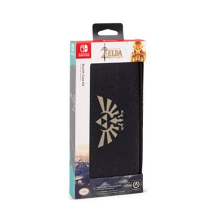 Case Protetora + Película Protetora PowerA (The Legend of Zelda: Breath of the Wild Edition) - Switch