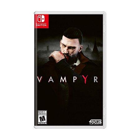 Jogo Vampyr - Switch