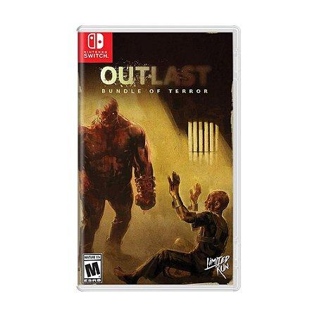 Jogo Outlast: Bundle of Terror - Switch