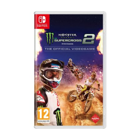 Jogo Monster Energy Supercross - The Official Videogame 2 - Switch