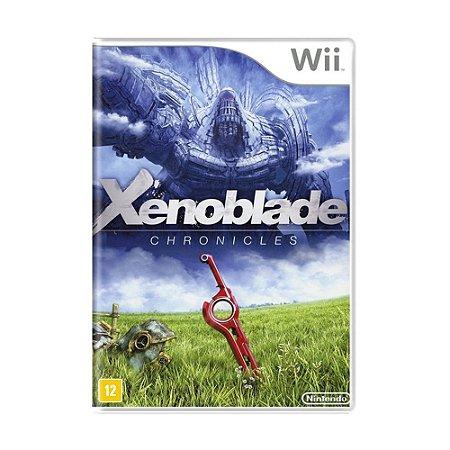 Jogo Xenoblade Chronicles - Wii