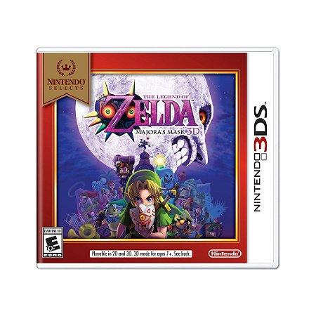 Jogo The Legend of Zelda: Majora's Mask 3D - 3DS