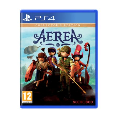 Jogo AereA (Collector's Edition) - PS4