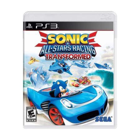 Jogo Sonic & All-Stars Racing Transformed - PS3