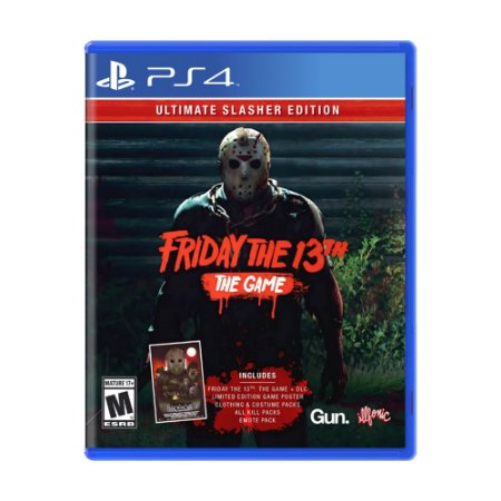 Jogo Friday the 13th: The Game (Ultimate Slasher) - PS4