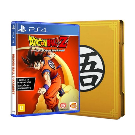 Jogo Dragon Ball Z: Kakarot (Edição Steelbook) - PS4