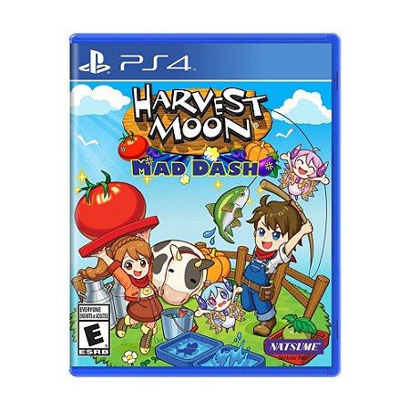Jogo Harvest Moon: Mad Dash - PS4
