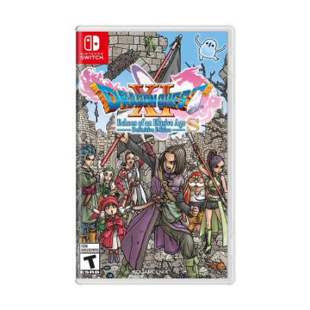 Jogo Dragon Quest XI S: Echoes of an Elusive Age - Definitive Edition - Switch