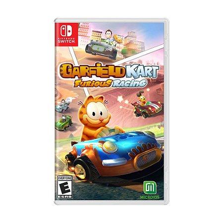 Jogo Garfield Kart: Furious Racing - Switch