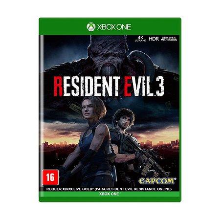 Jogo Resident Evil 3 - Xbox One