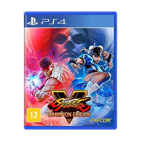 Jogo Street Fighter V (Champion Edition) - PS4