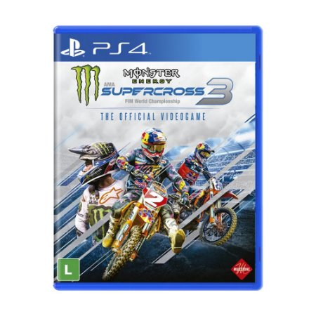 Jogo Monster Energy Supercross - The Official Videogame 3 - PS4