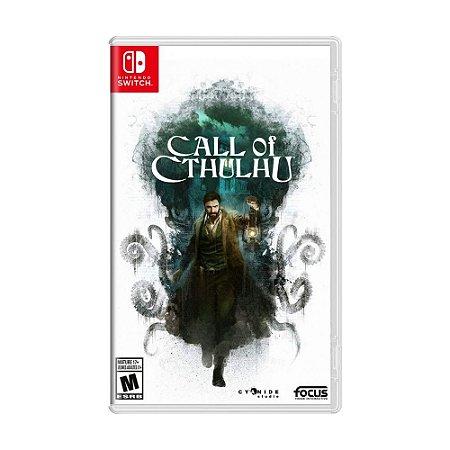 Jogo Call of Cthulhu - Switch