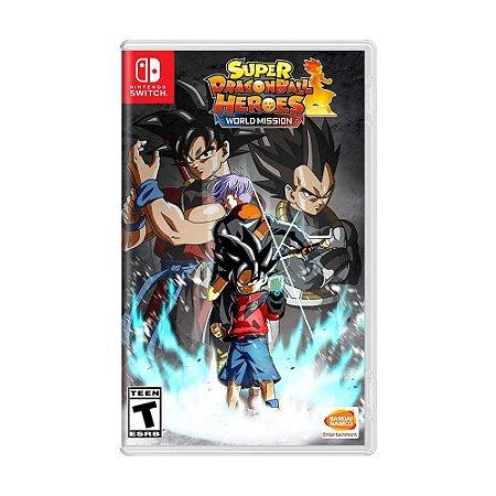 Jogo Super Dragon Ball Heroes: World Mission - Switch