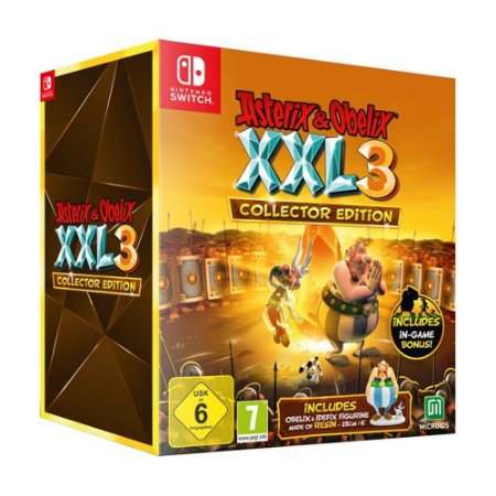 Jogo Asterix & Obelix XXL 3 (Collector Edition) - Switch